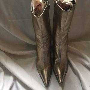 Escada gold boots